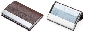 Troika Card Stand Business Card Case