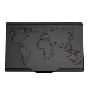 Troika Global Contacts Business Card Case