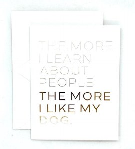 Wrinkle and Crease The More I Learn About People Card