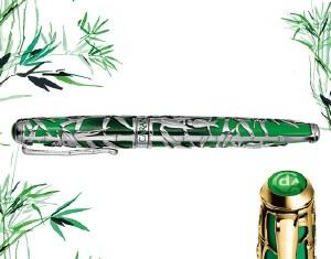 Caran D'Ache Bamboo Limited Edition Fountain Pen