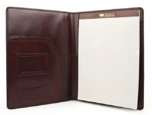 Bosca Leather Writing Portfolio