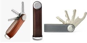 Orbitkey Keyrings Classic Leather Range