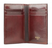 Bosca 8 Pocket Calling Card Case Model 443