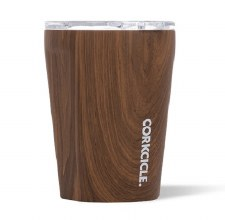 Corkcicle Tumbler 12oz - Origins Collection Walnut