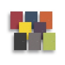 Fabriano EcoQua Small Glued Notebook with Dotted Paper- A5