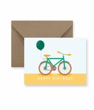 IM PAPER Bike Birthday Card