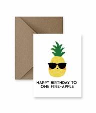 IM PAPER Fine-Apple Birthday Card
