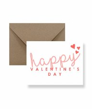 IM PAPER Happy Valentine's Day Card