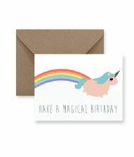 IM PAPER Magical Birthday Card