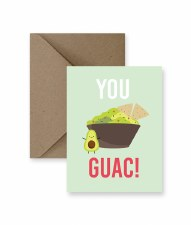 IM PAPER You Guac! Card