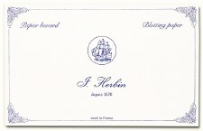 J. Herbin Blotting Paper- White 10 per package