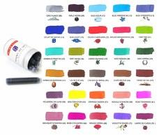 J. Herbin Universal Ink Cartridges- 6 per Package