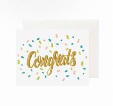 Jaybee Designs Congrats Confetti Card