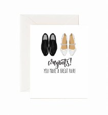 Jaybee Designs Congrats Great Pair Card