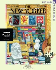"""New York Puzzle Co. The New Yorker """" Art Shop"""""""