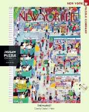 """New York Puzzle Co. The New Yorker """"The Market"""""""