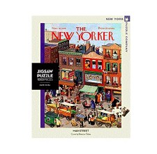 """New York Puzzle Co. The New Yorker """"Main Street"""""""
