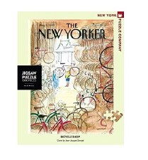 """New York Puzzle Co. The New Yorker """"Bicycle Shop"""""""