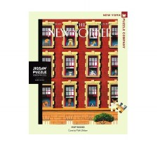 """New York Puzzle Co. The New Yorker """"Hot Dogs"""""""