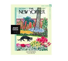 """New York Puzzle Co. The New Yorker """"Cat on the Prowl"""""""