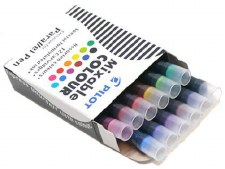 Pilot Parallel Mixable Ink Cartridges- Assorted Colours 12 per pkg