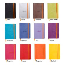 Rhodia Rhodiarama Soft Cover Notebook- A5 Lined
