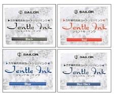 Sailor Jentle Ink Cartridges- 12 Cartridges per Package