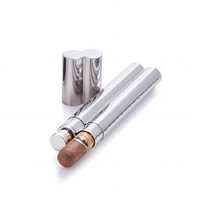 Viski Cigar Holder and Flask