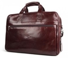 Bosca Stringer Leather Briefcase