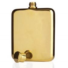 Viski Gold-Plated Flask