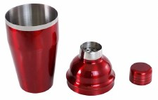 Cocktail Shaker in Red
