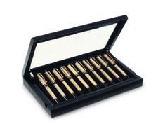 Venlo Company 10 Pen Box in Leather