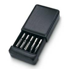 Venlo Company 5 Pen Box in Leather