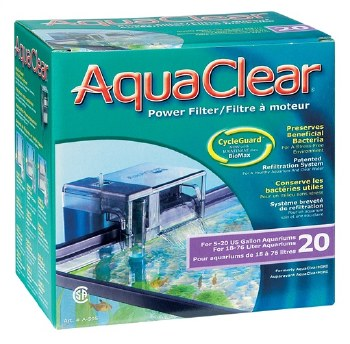 Aqua Clear Mini Power Filter 20 Gallon