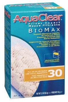 Aqua Clear Bio Max Filter Insert 10-30 Gallon