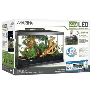 Marina LED Aquarium Kit 20Gal