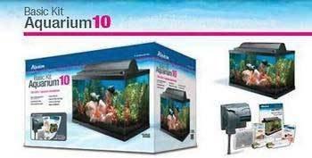 Aqueon Basic 10 Gallon Aquarium Kit