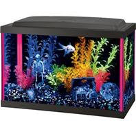 Aqueon Aquarium Kit Pink NeoGlow 5.5 Gallon