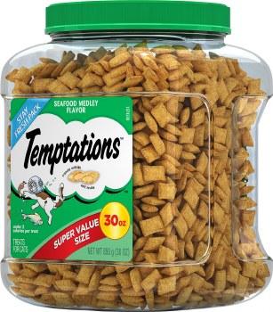 Temptations Seafood Medley Flavor Cat Treats 30oz