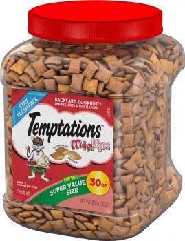 Temptations Mixups Backyard Cookout Cat Treats 30oz