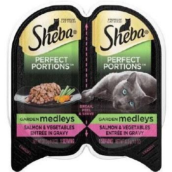 Sheba Salmon w/Veggies 2.6oz