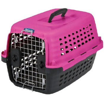 Compass Kennel 24 In Pink-Blk