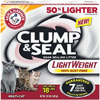Arm & Hammer Clump & Seal Multi Cat Lightweight 9lbs