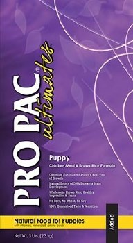Pro Pac Ultimates Chicken Meal and Brown Rice Puppy Dry Dog Food 28lb