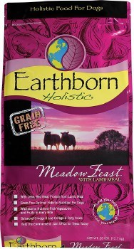 Earthborn Holistic Meadow Feast Grain Free Natural Dry Dog Food 28lb