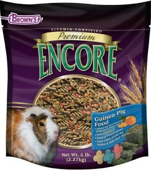 Brown's Encore Premium Guinea Pig Food 4lb