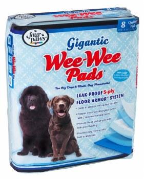 Gigantic Wee Wee Pads 8pk