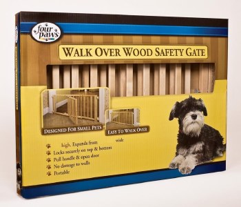 Walk Over Wood Gate w/Door