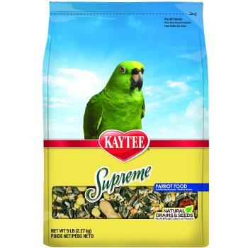 Kaytee Natural Supreme Parrot Food 5lb Bag