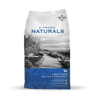 Diamond Naturals Beef Meal and Rice Formula Adult Dry Dog Food 40lb